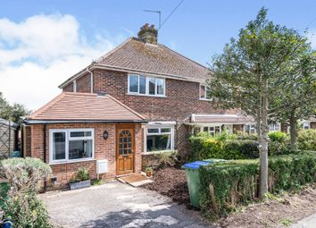 Thumbnail 4 bed semi-detached house for sale in Hamsey Crescent, Lewes