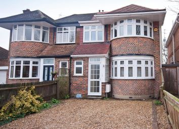 Thumbnail 5 bed semi-detached house to rent in Rushdene Road, Pinner