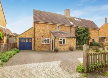 Thumbnail 3 bed semi-detached house for sale in Coltman Avenue, Long Crendon, Aylesbury