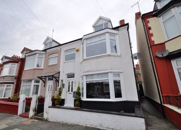 Thumbnail 4 bed semi-detached house for sale in Turret Road, Wallasey