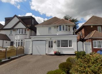 Thumbnail 3 bed detached house for sale in Springfield Road, Sutton Coldfield, West Midlands