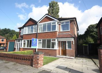 Thumbnail 3 bedroom semi-detached house to rent in Mesne Lea Grove, Worsley, Manchester