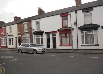 Thumbnail 1 bed terraced house to rent in Portman Street, Middlesbrough