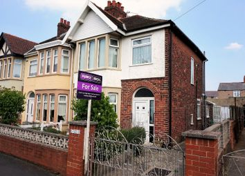 Thumbnail 3 bed end terrace house for sale in Falmouth Road, Blackpool