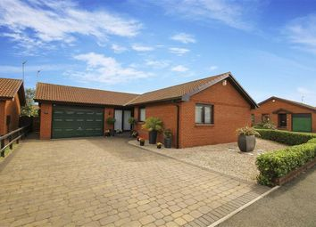 Thumbnail 3 bed detached bungalow for sale in Montrose Close, New Hartley, Whitley Bay