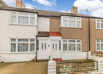 Thumbnail 3 bed terraced house for sale in Ravensbourne Avenue, Stanwell, Staines