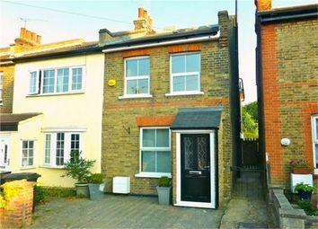 Thumbnail 3 bed end terrace house for sale in Woburn Avenue, Theydon Bois, Essex