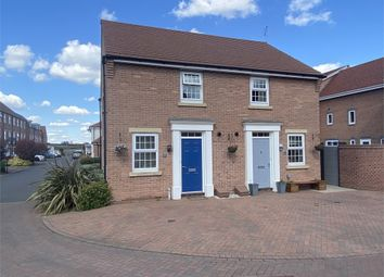 Thumbnail Semi-detached house for sale in Waters Edge, Kings Sconce Avenue, Newark, Nottinghamshire.