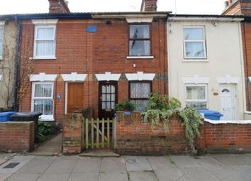 Thumbnail 2 bed terraced house for sale in Ainslie Road, Ipswich