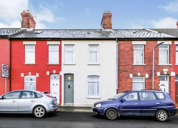 Thumbnail 2 bed terraced house for sale in Clive Road, Barry