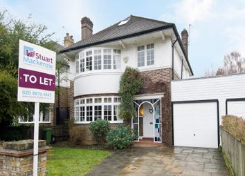 Thumbnail 5 bed detached house to rent in Sheen Lane, London