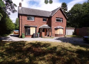 Thumbnail 4 bed detached house for sale in Chapel Lane, Chirk, Wrexham, Wrecsam