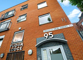 Thumbnail 1 bed flat to rent in Tudor Lodge, Bromley High Street, Bromley By Bow