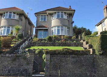Thumbnail 3 bed detached house for sale in Langland Bay Road, Langland, Swansea, West Glamorgan