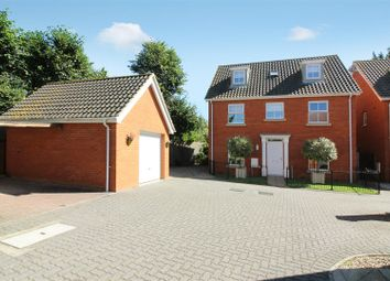 Thumbnail 5 bed detached house for sale in Earles Gardens, Off Earlham Road, Norwich