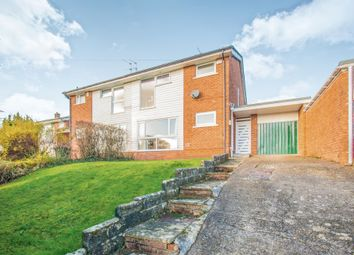 Thumbnail 3 bed semi-detached house for sale in Heol Y Delyn, Lisvane, Cardiff