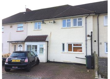 Thumbnail 3 bed terraced house for sale in Crundale Crescent, Cardiff