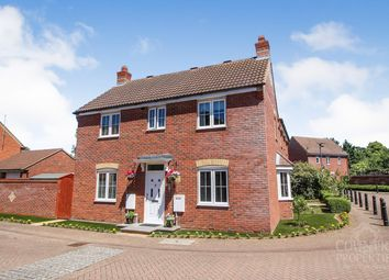 Thumbnail 3 bed semi-detached house for sale in Prior Close, Clapham, Bedford