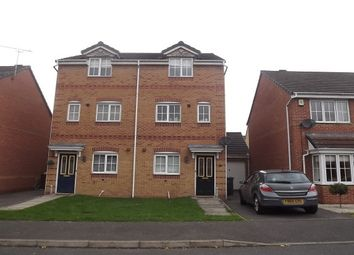 Thumbnail 3 bed property to rent in Churnet Road, Hilton, Derby