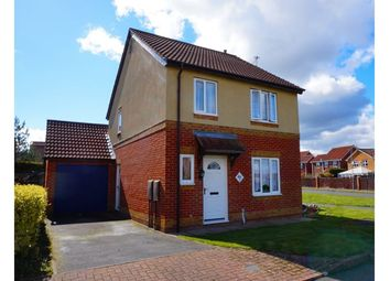 Thumbnail 3 bed detached house for sale in Skipton Close, Bedlington