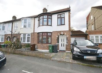 Thumbnail 3 bed end terrace house to rent in Abbotts Crescent, London