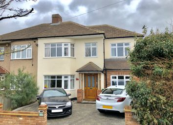 Thumbnail 4 bed semi-detached house to rent in Redden Court Road, Harold Wood, Romford