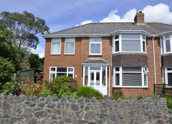 Thumbnail 4 bed semi-detached house for sale in Church Hill, Pinhoe, Exeter