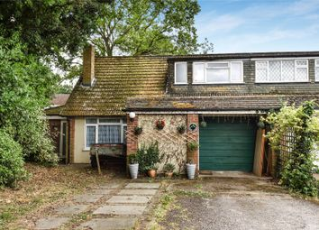 Thumbnail 4 bed semi-detached house for sale in Hicks Lane, Blackwater, Camberley