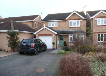 Thumbnail 4 bed detached house to rent in Lodge Road, Fleckney, Leicester
