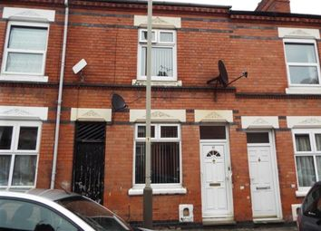 Thumbnail 2 bedroom terraced house for sale in Herschell Street, Leicester
