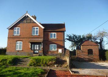 Thumbnail 4 bed detached house to rent in Dag Lane, Lullington, Derbyshire