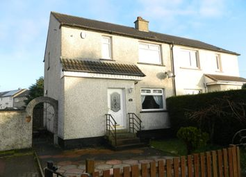 Thumbnail 2 bed semi-detached house for sale in Linnhe Crescent, Wishaw