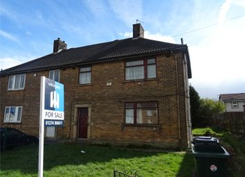 Thumbnail 3 bed semi-detached house for sale in Fagley Road, Bradford, West Yorkshire