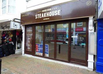 Thumbnail Commercial property for sale in St. Mary Street, Weymouth