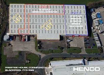 Thumbnail Light industrial to let in Unit C, Prestige House, Cornford Road, Blackpool, Lancashire
