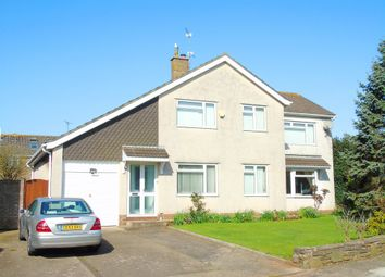 Thumbnail 4 bed detached house for sale in Winsford Road, Sully, Penarth