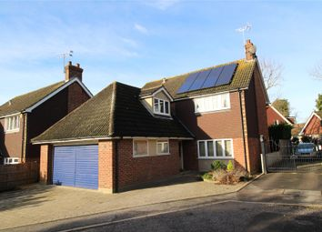 Thumbnail 4 bedroom detached house for sale in Thomas Close, Brentwood, Essex