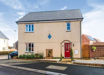 Thumbnail 3 bedroom end terrace house for sale in St Michaels Way, Cranbrook, Exeter