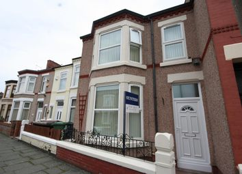Thumbnail 3 bed terraced house for sale in Bridle Road, Wallasey
