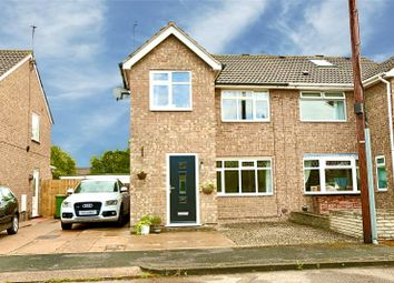 Thumbnail 3 bed semi-detached house for sale in Lincoln Green, Hull, East Yorkshire