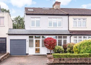 Thumbnail 4 bed semi-detached house for sale in Harrow Road, Carshalton