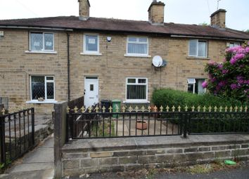 Thumbnail 3 bed terraced house for sale in Oakenbank Crescent, Lowerhouses, Huddersfield, West Yorkshire