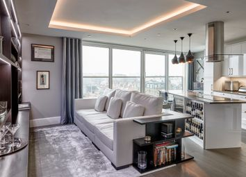Thumbnail 2 bed flat to rent in Benson House, Radnor Terrace, London