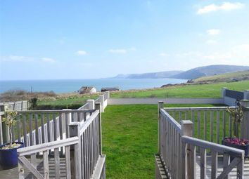 Thumbnail 3 bed semi-detached bungalow for sale in Heol Y Graig, Aberporth, Cardigan