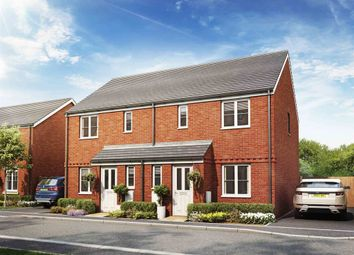 "Thumbnail 3 bed semi-detached house for sale in ""The Hanbury"" at Picket Twenty, Andover"