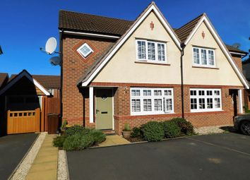 Thumbnail 3 bed semi-detached house for sale in Campion Grove, Doxey, Stafford