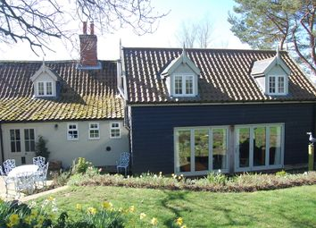 Thumbnail 3 bed detached house for sale in Ash Road, Lower Hacheston, Woodbridge