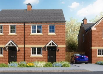 Thumbnail 2 bed semi-detached house for sale in Chace Avenue, Willenhall, Coventry