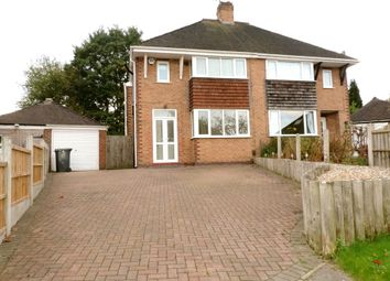 Thumbnail 3 bed semi-detached house to rent in Clumber Grove, Clayton, Newcastle Under Lyme