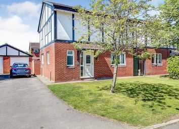 Thumbnail 4 bed detached house for sale in Gables Close, Fearnhead, Warrington